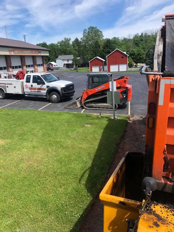 Recent Commercial Paving And Sealcoating Jobs - Willies Paving recent commercial paving