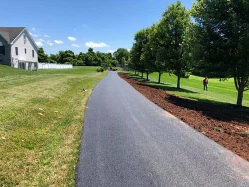 Some driveways this week for East Petersburg Paving