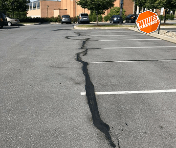 parking lot striping line marking