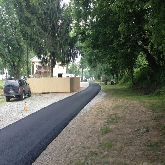 paving-roads-rick's-marina-etters-pa